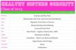 Healthy Sisters Sorority Monthly Calendar