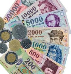 A Wide Selection of Commonly Used Currency Denominations in Hungary