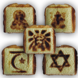 Good Faith Pareidolia Toasters by Burnt Impressions Inc.
