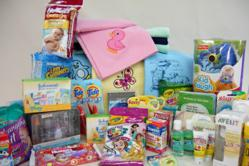 Upstate Networks Donation of Child Care Supplies, Blankets and Gifts
