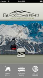 Download the Blackcomb Peaks mobile app