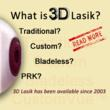 """Renowned Eye Surgeon, Dr. Stewart Shofner Delivers The Surprising Truth About the Recently Advertised """"3D Lasik"""" Vision Correction Procedure"""