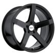 TSW Alloy Wheels - the Tanaka in Matte Black