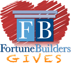 FortuneBuilders Gives Logo
