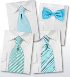 The Mint Green Tie is One of Bows-N-Ties Best Selling Groomsmen Ties for Spring 2013