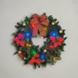 "18"" Cordless LED Wreath from BrylaneHome.com"