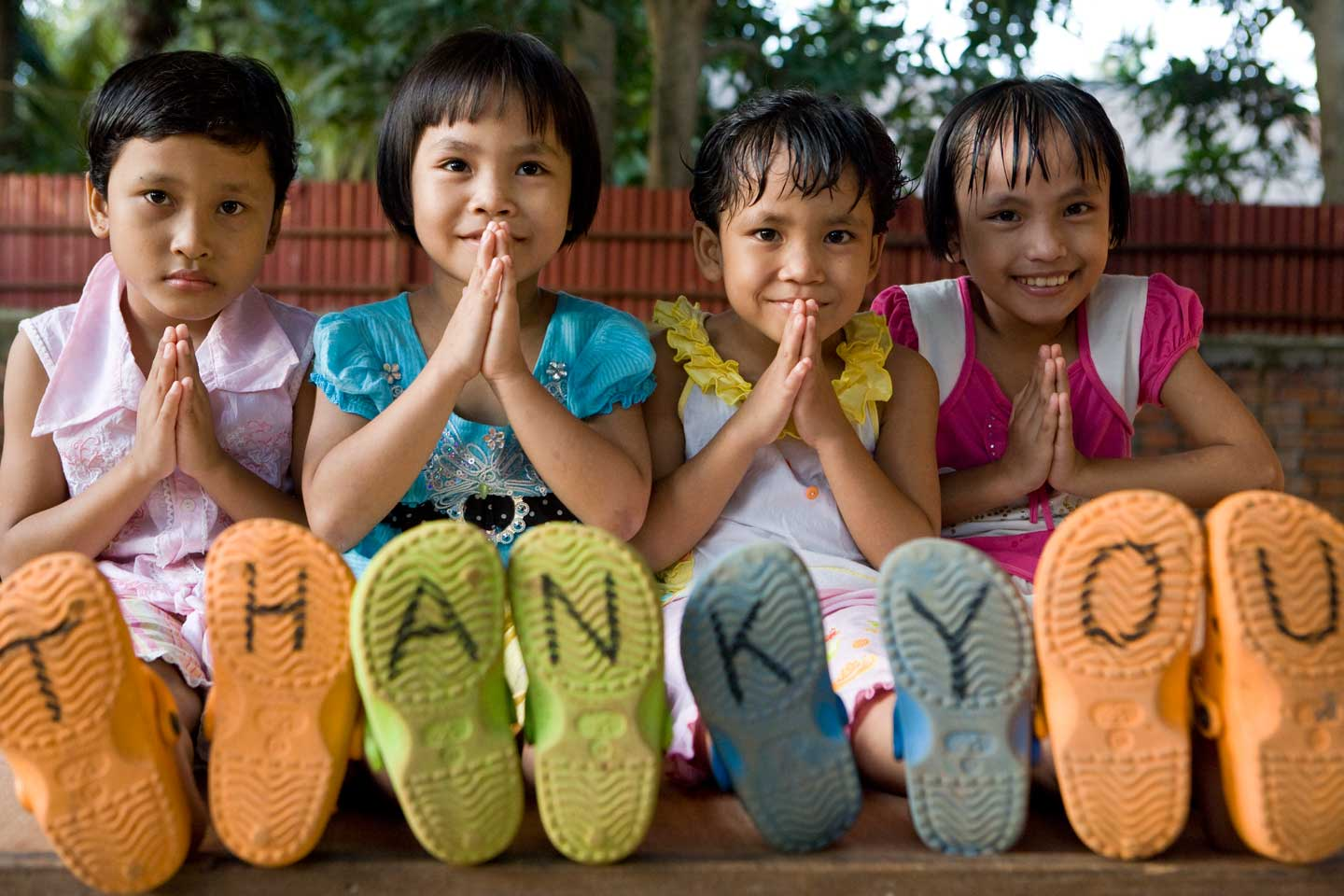 how to say thank you in cambodian