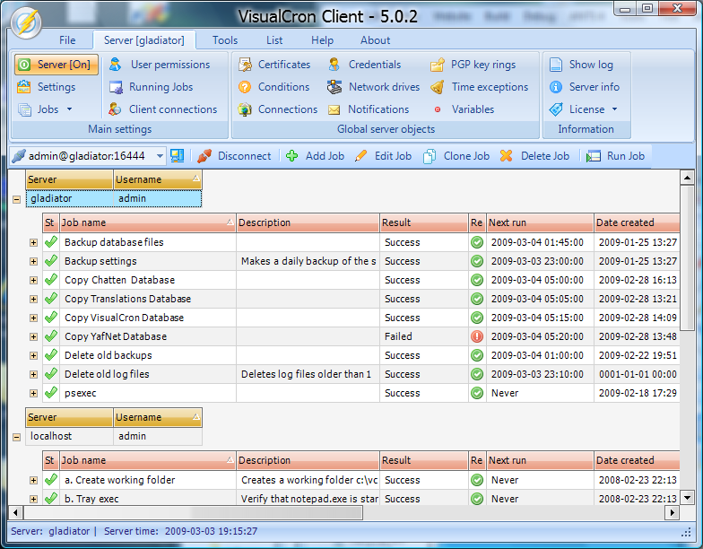 VisualCron - Advanced Automation Tool and Scheduler - Now