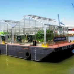 American Hydroponics donates NFT parts to Groundwork Hudson Valley's Science Barge