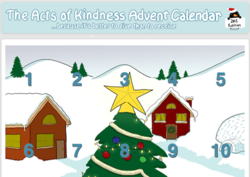 Subscribe to the Acts of Kindness Advent Calendar