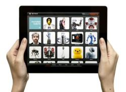 Robots for iPad, a fun and engaging app featuring the world's coolest robots
