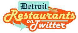 Detroit Restaurants on Twitter 2012