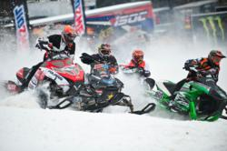 Traverse City: Competitors in the AMSOIL Championship Snocross Series