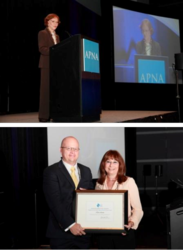 APNA Champions of Psychiatric-Mental Health Nursing: Rosalynn Carter and Eric Arauz
