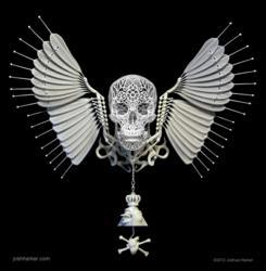 """Anatomica di Revolutis"" 3D-printed Sculpture"