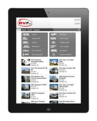iPad 2 Viewing RVT Classifieds mobile website m.rvt.com