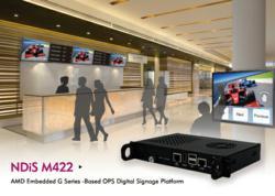 NDiS M422 -  MD Embedded G Series - Based OPS Digital Signage Platform