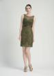 Sue Wong short dress with sequined accents