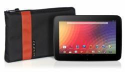 Nexus 7 Travel Express—shown with Flame color stripe option