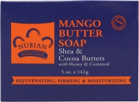 Mango Butter Soap with shea and cocoa butter (5 oz)