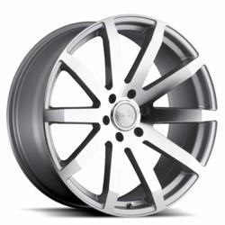 Black Rhino Truck Wheels - the Traverse in Silver
