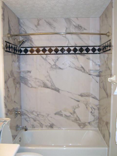 new sentrel shower tub wall panels the glamorous look