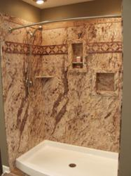 Perfect New Sentrel Shower U0026 Tub Wall Panels: The Glamorous Look Of Marble And  Granite At Half The Price! U2013 Innovate Building Solutions