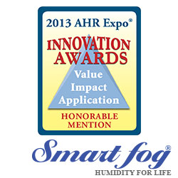Smart Fog TS100 Commercial Humidifiers AHR Expo Innovation Awards