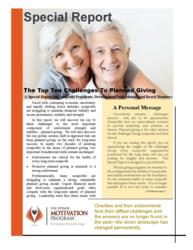 The Donor Motivation Program Special Report