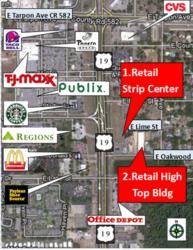 Tampa Commercial Real Estate,Retail Space For Lease in Tarpon Springs FL