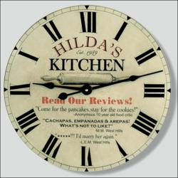 Kitchen Clock for Mom
