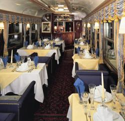 The Luxury Train Club offers the Majestic Train de Luxe