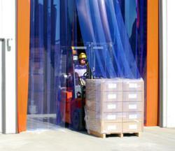 Forklift Strip Door