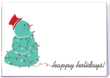 Charity Christmas Card with Snowman designed by Big Brothers Big Sisters of Colorado