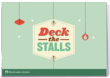 """Blood:Water Mission's """"Deck the Stalls"""" line of Charitable Christmas Cards"""