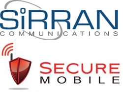 SiRRAN Secure Mobile Logo