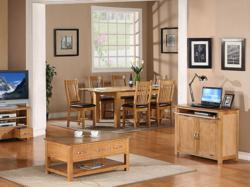 OAKEA's Utah Oak Dining & Lounge Furniture
