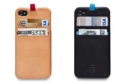 slim and light STORM iPhone 5 wallet case