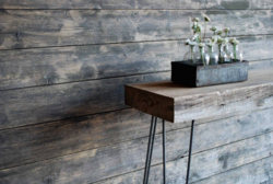Reclaimed Wood Showcased In Etsy Holiday Shop NYC - Reclaimed wood table nyc