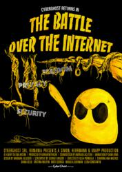 "Poster ""CyberGhost returns in THE BATTLE OVER THE INTERNET"""