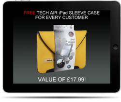 iPad Screen Repair Free Tech Air iPad Sleeve for Every Customer