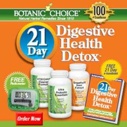 Stella Metsovas 21 Day Digestive Detox by Botanic Choice