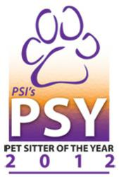 Pet Sitter of the Year 2012