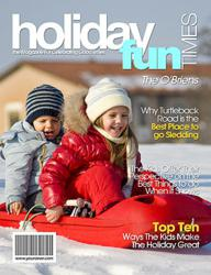 Holiday Personalized Magazine Cover from YourCover