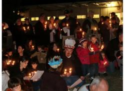 Candle Lighting Ceremony at Highland Hall Waldorf School