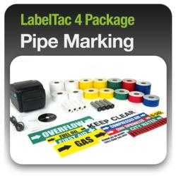 LabelTac 4 Pipe Marking Labeling Package