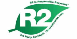 R2 is the leading standard for the electronics recycling industry, ensuring practices that protect the environment, human health, safety and the security of the recycling process.