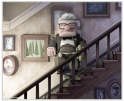 Disney's Pixar movie, Up!