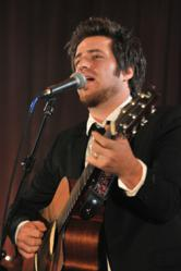 Lee DeWyze performs at Cures 2012 Gala to raise funds for innovative cancer research.