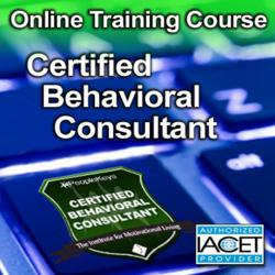 Certified Behavioral Coach